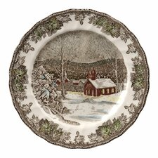 "Friendly Village 10"" Dinner Plate (Set of 4)"