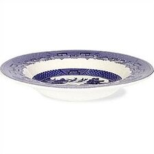 Willow Blue Rim Soup / Pasta Bowl (Set of 6)