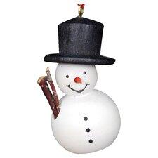 Painted Snowman Ornament
