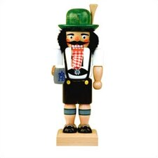 Bavarian with Mug Nutcracker