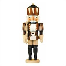 Natural Wood Finish Medium King Nutcracker