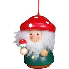 Mushroom Man Christmas Ornament