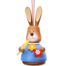 Christian Ulbricht Bunny Artist Painted Ornament