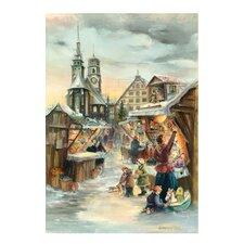 Bruck and Sohn Scene from City of Stuttgart Advent Calendar