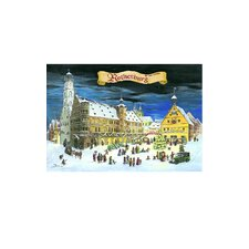 Bruck and Sohn Scene from City of Rothenberg Advent Calendar