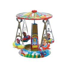 Tin Carousel Ornament