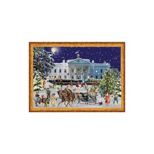 Sellmer White House Advent Card (Set of 2)