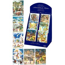 Assorted Advent Cards (Set of 60)