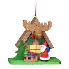 Christian Ulbricht Tiny Santa with an ELK Ornament