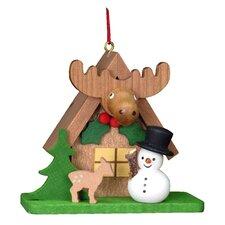 Christian Ulbricht Tiny Snowman with an ELK Ornament
