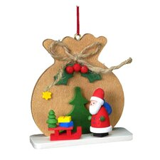 Christian Ulbricht Brown Sack with Santa Ornament