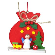 Christian Ulbricht Red Sack with Angel Ornament