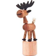 Dregeno Elk Push Toy Statue