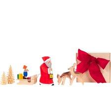 Dregeno Santa and Deers Decorative Box