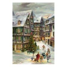 Village Christmas Advent Calendar