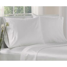 1000 Thread Count Cotton Solid Pillowcases (Set of 2)