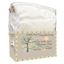 Organic Smooth Top Natural Fiber Crib Mattress Protector