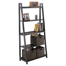 "Adam A Frame 58.03"" Accent Shelves Bookcase"