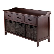 Adriana 4 Piece Storage Bench Set