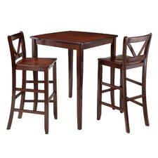 Inglewood 3 Piece Pub Table Set