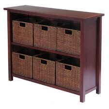 "Milan Low Storage Shelf 30"" Standard Bookcase"