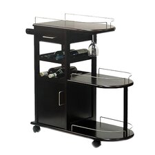 Serving Cart in Espresso