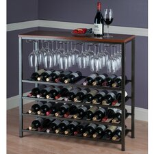 Michelle 40 Bottle Hanging Wine Rack