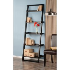"Bailey 74.6"" Leaning Bookcase"