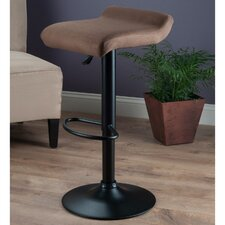 Marni Adjustable Height Bar Stool with Cushion