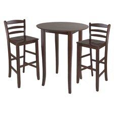 Egan 3 Piece Pub Table Set