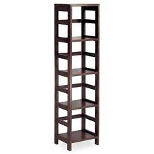 Espresso 4 Section Storage Shelf