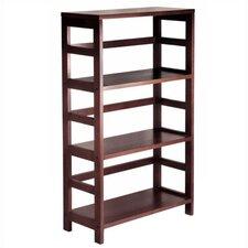 Espresso Wide 3 Section Storage Shelf