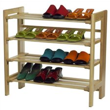 Basics 4-Tier Shoe Rack