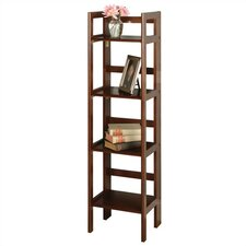 "Basics Folding 51.34"" Etagere Bookcase"