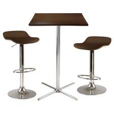Kallie 3 Piece Pub Table Set
