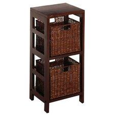 Espresso Storage Shelf And Baskets