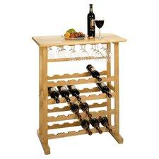 Basics 24 Bottle Floor Wine Rack