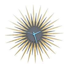"Oversized 23"" Atomic Wall Clock"