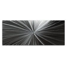 Tantalum Composition Graphic Art Plaque