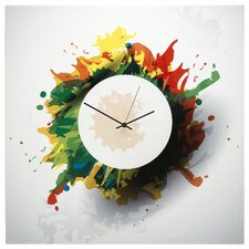 "22"" Splatter Wall Clock"