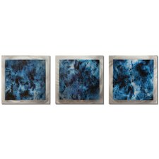 Storm Essence 3 Piece Graphic Art Plaque Set