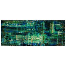 'Aporia Blue' by Nicholas Yust Graphic Art Plaque