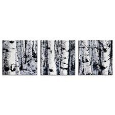 Maps & Landscapes 'Aspen Triptych' Graphic Art Plaque
