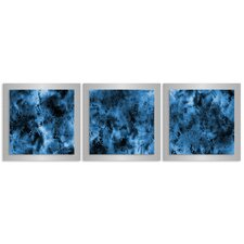 Storm Essence by Nicholas Yust 3 Piece Graphic Art Plaque Set