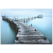 'Old Aqua Dock' by Jesús M. García Photographic Print