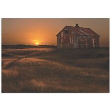 'September Barn' by Bragi Ingibergsson Photographic Print