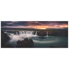 'Fire and Waterfalls' by Stefan Mitterwallner Photographic Print