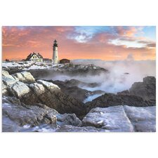 'Frozen Lighthouse' by Benjamin Williamson Photographic Print
