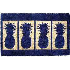 Four Pineapples Doormat