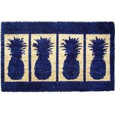 Four Pineapples Doormat